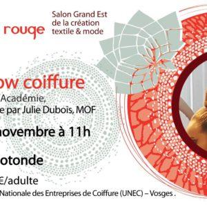 Lydie -Academie de danse anime le Show de coiffure du 26 novembre à la Rotonde