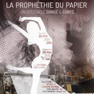 La Prophétie du papier, spectacle dansé et conté